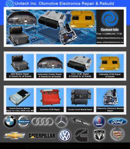 BMW, AUDI, MERCEDES, VOLVO ECM, ECU, ABS Module Repair