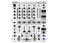 Behringer DJX700 Professional 5-Channel DJ Mixer with Multi-FX Processor,BPM Counter and VCA-Control