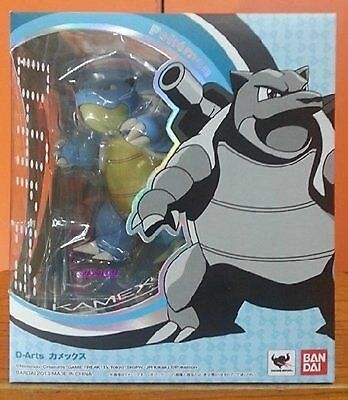 BANDAI D-ARTS POKEMON Blastoise Kamex Action Figure  for sale  Shipping to United States
