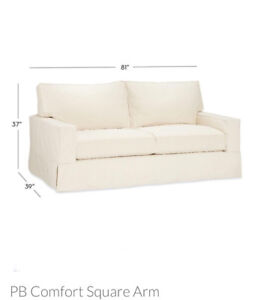 Sofa Potterybarn comfort SQ