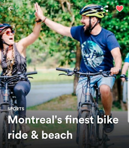 Montreal's best bike adventure