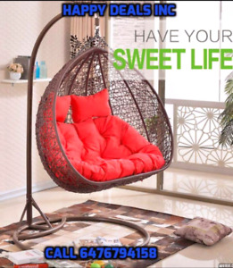 Swing chair weekend Super Sale Single /Double starting at $280