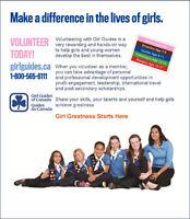Girl Guide Leaders- Volunteers Needed