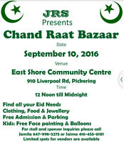 CHAND RAAT BAZAAR 2016 FREE PARKING + ADMISSION