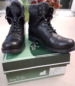 Bos. & Co. - Women's Winter Shoes- Size 40- Black- New
