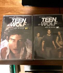 Saisons 1 et 2 de Teen Wolf ****15$