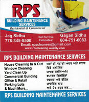 New & Old House Cleaning Services.   www.rpscleaning.weebly.com