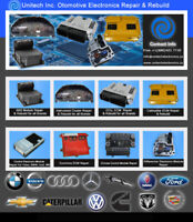 BMW, AUDI, MERCEDES, VOLVO ECM, ECU, ABS Module Repair