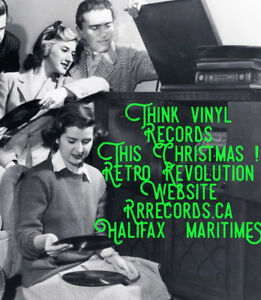 """ VINTAGE VINYL RECORDS "" - The Very Best Gift at Christmas !"