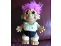Large 7'' RUSS troll collectible reduced