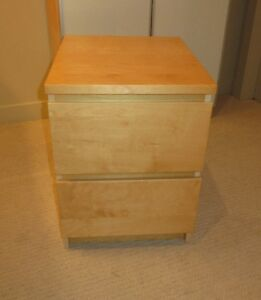 IKEA MALM NIGHTSTAND/2 DRAWER CHEST