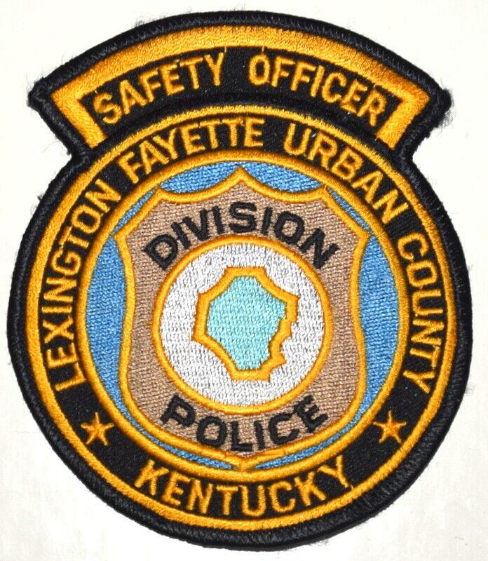 LEXINGTON FAYETTE URBAN COUNTY– SAFETY OFFICER -KENTUCKY KY Sheriff Police Patch