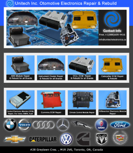 Electronic Climate Control Module Repair And Rebuild