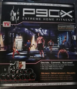 P90x for sale...$90 or best offer.Call John...416-858-6996