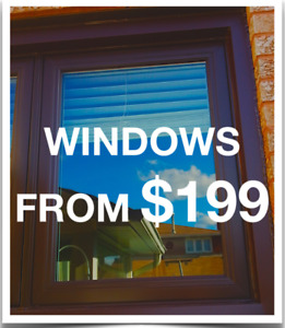 ‼️S   A   L   E‼️ WE BEAT ANY QUOTE BY 10% VINYL WINDOWS & DOORS