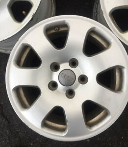 15 inch Audi rims for sale