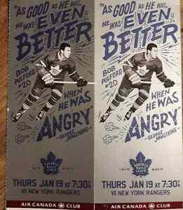 Toronto Maple Leafs vs New York Rangers Jan19/17
