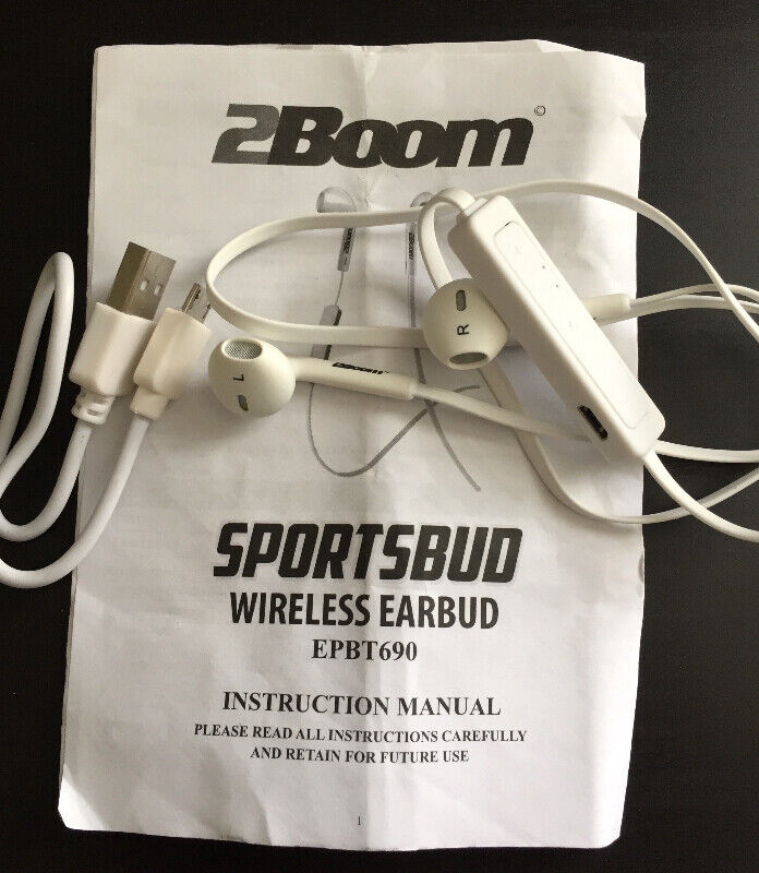 2Boom wireless earbud new never used without box