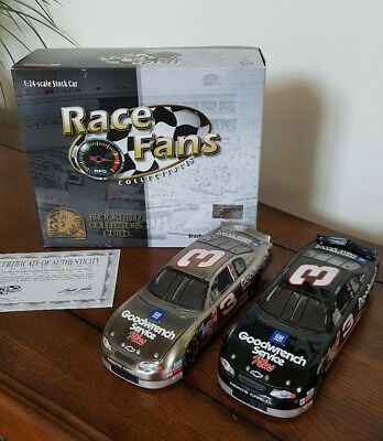 Brookfield Collectors Guild Dale Earnhardt #3 NASCAR 1:24 Twin (Nascar Twin Pack)