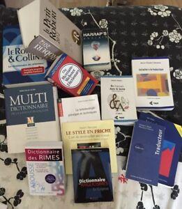 Livres et dictionnaires