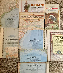 National Geographic Maps (2) NORTH AMERICA