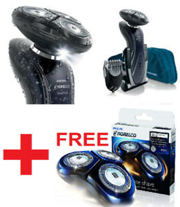 NEW PHILIPS NORELCO 1190X WATERPROOF ELECTRIC SHAVER  EXTRA HEAD