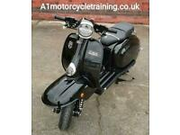 Royal Alloy TG 125 S LC ABS RETRO SCOOTER LEARNER LEGAL