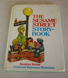 Original - The Sesame Street Story Book from 1971
