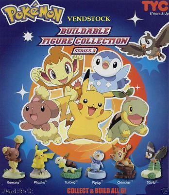 Pokemon Mini Buildable Figure - Series 3 - You Pick One