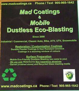 IM LOOKING TO SWAP A DIRT BIKE FOR MY MOBILE BLASTING SERVICE!