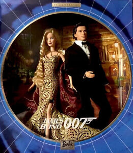 James Bond 007 Ken & Barbie Gift Set *NEW* 2002 Prince George British Columbia image 1