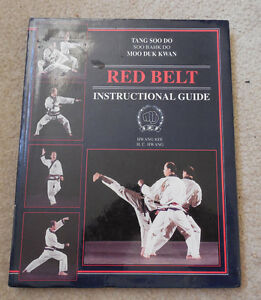 Red Belt in Tang Soo Do Martial Arts