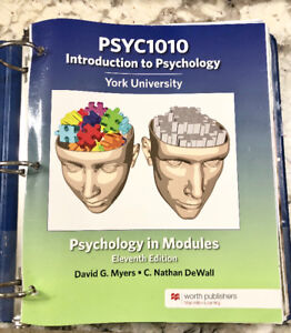 Psych 1010 In modules 11th edition