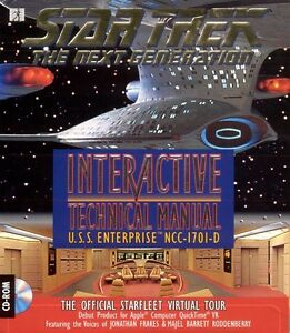 Star Trek TNG – Interactive Technical Manual (1994) Mac Version