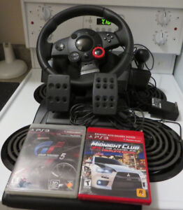 Logitech PS3 Driving Force GT Racing Wheel (PC,PS2,PS3)