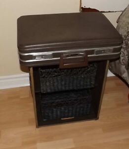 Briefcase Night Table