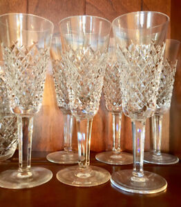 Waterford ALANA Crystal Champagne Flutes -Set of 6