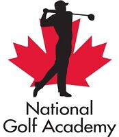 GOLF LESSONS WITH THE NATIONAL GOLF ACADEMY