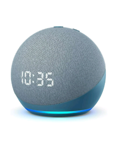 Amazon echo dot with clock brand new sealed in box