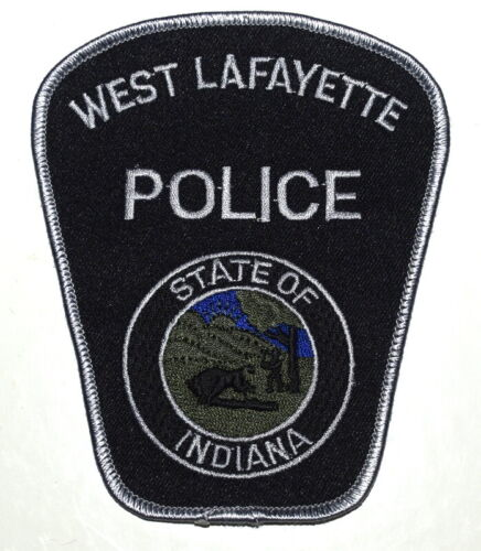 WEST LAFAYETTE – SWAT - INDIANA IN Sheriff Police Patch SUBDUED LG 5