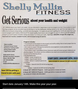 Try a FREE class with Shelly Mullin Fitness!