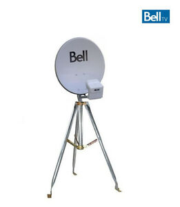 BELL SATELLITE DISH OR TRIPOD FOR CAMPING