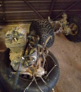 1985 honda atc 250sx  engine/parts