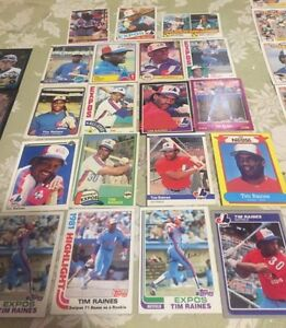 19 Tim Raines Baseball Cards - 1 1981 Rookie #816