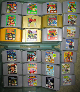 N64 System, Controllers and All the Best Games. Prices are FIRM