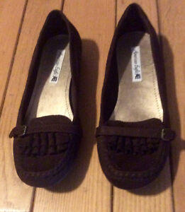 Women's Dark Brown American Eagle Shoes - St. Thomas