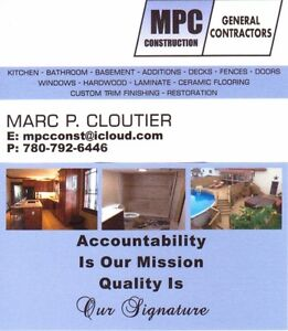 MPC Construction Home Renovations Specialist