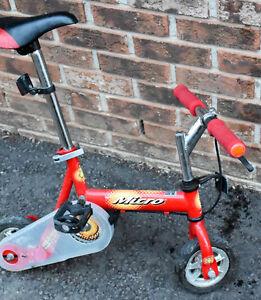 HUFFY MICRO HEAR-NO-EVIL MONKEY STUNT BICYCLE
