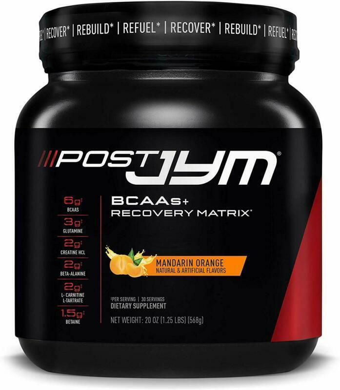 Post JYM Active Matrix - Post-Workout with BCAA's, Glutamine