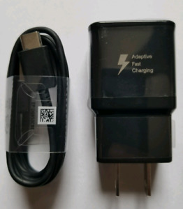 Samsung Fast charger set (type C) S9 S8 NOTE8 LG G6 other phones